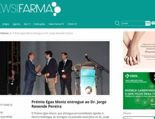 Prémio Egas Moniz entregue ao Dr. Jorge Resende Pereira